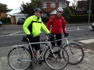 First ride on the Surly - with Robin Brown