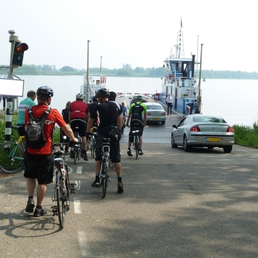 River crossings were a key feature of the ride