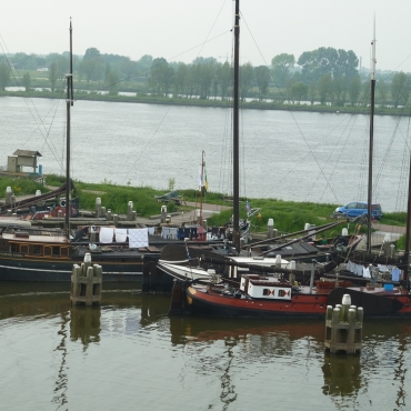The Rhine at Woudrichem
