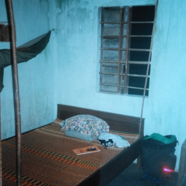 First class accommodation:  Cambodia 2004