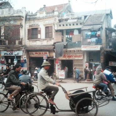 It will be mostly cars now: Saigon 1993
