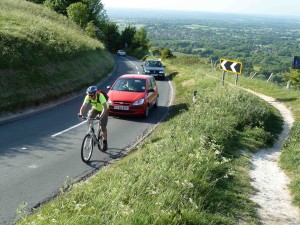 Climbing Ditchling Beacon