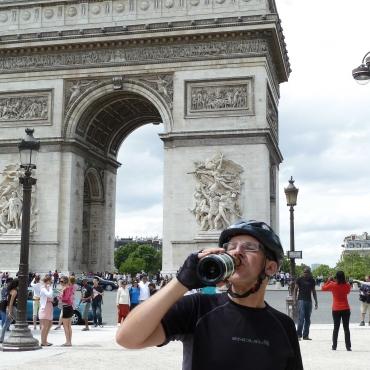 Champagne in Paris!