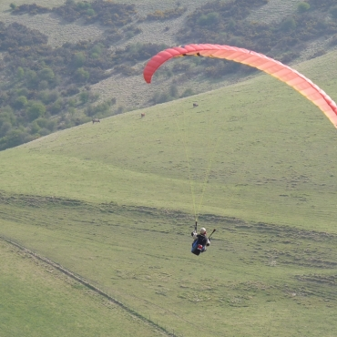Flying High on the South Downs