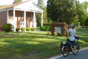 A sprinkling of Trail Magic….. Yorktown VA to Glendale VA