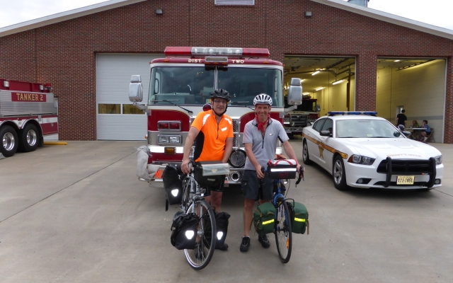 Joining the Boys on Blue watch….. Glendale VA to Mineral VA