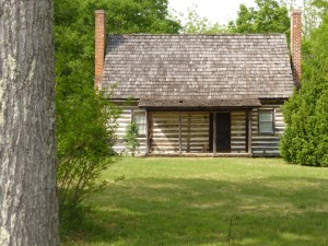 'Stonewall' Jackson stopped at this cottage for water during the civil war.