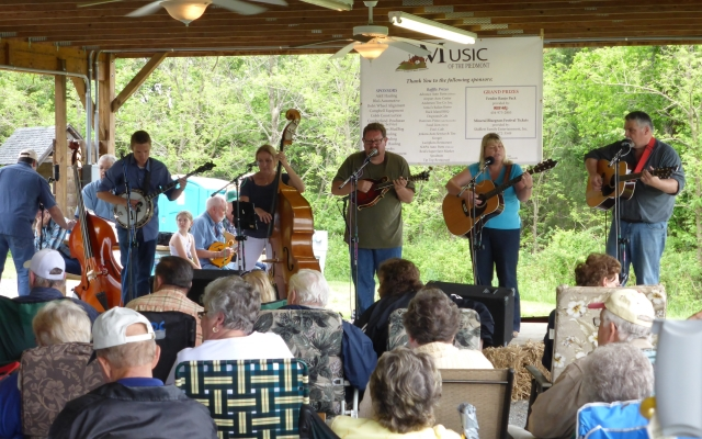 Bluegrass and Sore Arse…  Mineral VA to Charlottesville VA