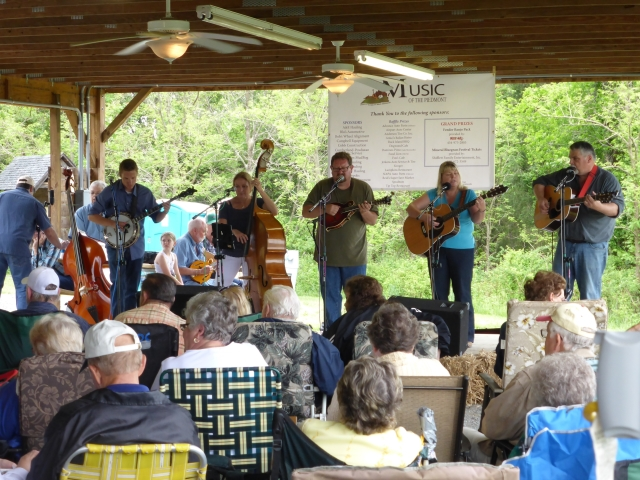 Bluegrass and Sore Arse…  Mineral VA to Charlottesville VA