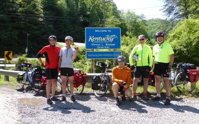 One down, nine to go!  Council VA  to Lookout KY