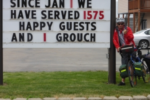 Do Groundhogs ride bikes?  New Meadows to Cambridge