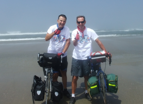 Job Done! Swisshome to Florence. Total distance: 4264 miles across the USA