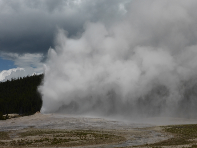 Yellowstone You Almost Blew it! Grant Village to West Yellowstone